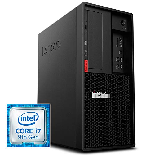 Lenovo ThinkStation P330 9th Gen Intel Core i7 i7-9700 16 GB DDR4-SDRAM 1256 GB HDD+SSD Negro Torre - Ordenador de sobremesa (3 GHz, 9th Gen Intel Core i7, 16 GB, 1256 GB, DVD±RW, Windows 10 Pro)