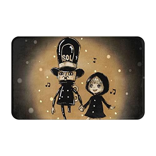 Alfombra Kyros Rebecca de una pieza de dibujos animados de invierno y verano para habitación de los niños, sala de estar, dormitorio, mesa de café, decoración de 50 cm x 80 cm