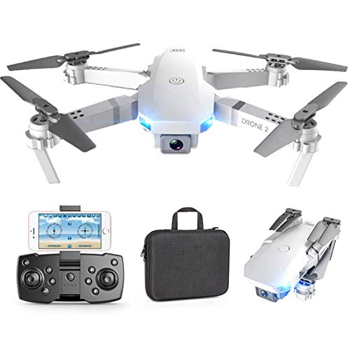 UWY Drone, 4K Camera Bright Lights Folding Body Gesture Photos/Videos Height Maintenance Phone Application RC Longer Fighting Life, Best Gift for Photography Lovers