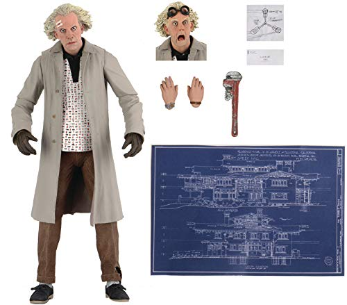 """Back to the Future - 7"""" Scale Action Figure - Ultimate Doc Brown"""