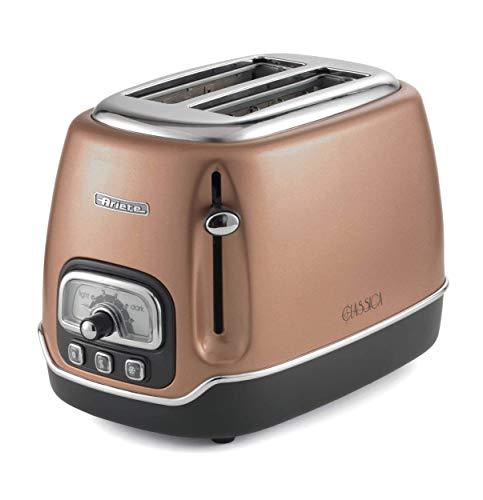 Ariete Classica Elektro-Toaster mit 2 Scheiben Kupferfarben, 158/07