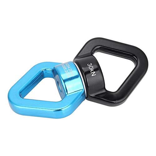 SALUTUYA 30KN, Dispositivo Giratorio más Seguro, Duradero, portátil, Robusto, Giratorio de Seguridad con Totalmente silencioso para Columpio de Cuerda de neumático de árbol(Blue Black)