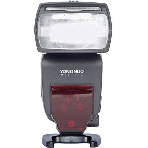 Yongnuo YN685N - Flash con sistema i-TTL, HSS, receptor interno, zoom 200 mm, color negro