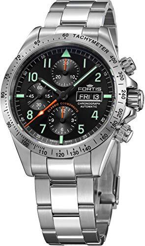 フォルティス 腕時計 FORTIS クラシック・コスモノート スチール p.m. 42mm Ref.401.21.11M