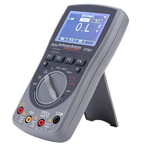 Multímetro, pantalla de alta definición Osciloscopio digital 3 modos Fácil de operar Medición rápida con luz de fondo para 50 formas de onda para 100 conjuntos de datos