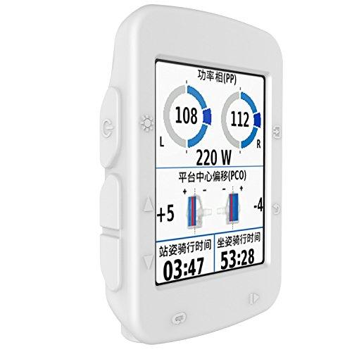 Housse de protection GPS pour GPS Garmin Edge 520 pour ordinateur de vélo Garmin Edge 520 (Blanc)