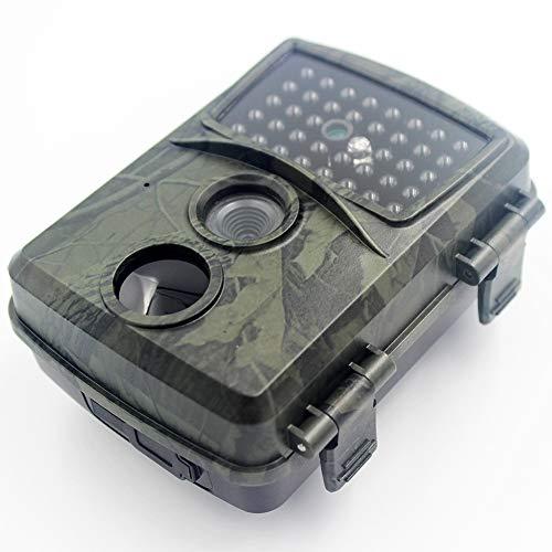 MZBZYU FHD 1080P Camara Fototrampeo Caza Vision Nocturna con Tarjeta SD de 32GB y 38 LED Infrarrojos IP54 Impermeable Gran Angular de 120° 15m de Distancia PIR Tiempo de Activación 0.8s