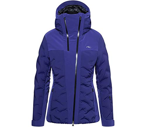 KJUS Women ELa Jacket Blau, Damen Daunen Isolationsjacke, Größe 36 - Farbe Into The Blue