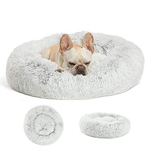 miaosss Deluxe knuffelhol van pluche, kattenschijf en hondenbed (Multiple grootte) voor honden en katten, middelgroot, klein en extra groot 100cm