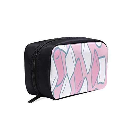 Sac de maquillage facile beau sac de maquillage de guimauve mignon coloré mode sac cosmétique drôle sac de mode de plage sacs cosmétiques sacs multifonctionnels sac de lavage de mode