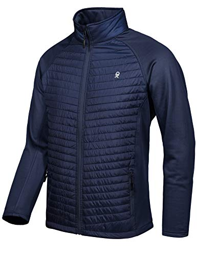 Thermal Hybrid Hiking Jacket Little Donkey Andy Mens Insulated Running Warm Jacket