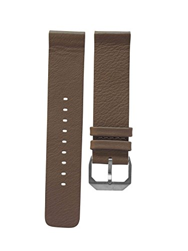 slow - Taupe Soft Leather Strap, Silver Buckle