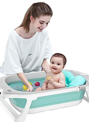 Blcnk Chi 2021 - Lavabo Plegable para Ducha para bebés, bañera para bebés, Ligera y portátil, para Lavado de niños pequeños, 29 Pulgadas