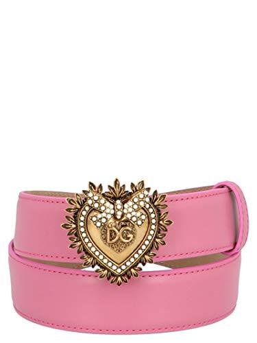 Luxury Fashion | Dolce E Gabbana Dames BE1315AK86186163 Roze Leer Riemen | Lente-zomer 20