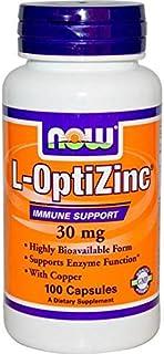Now Foods, L-optizinc, 30 Mg, 100 Capsules