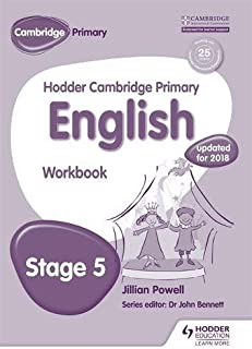 Hodder Cambridge Primary English: Work Book Stage 5