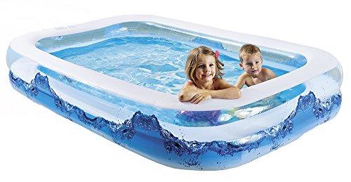 Happy People 18101Wehncke, Piscina Jumbo Water Wave, Blu