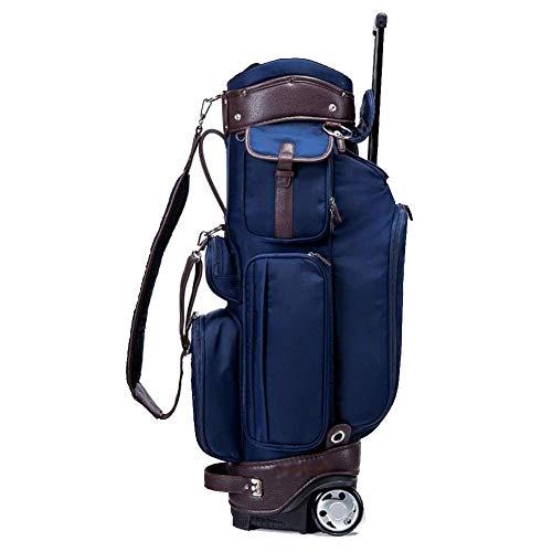 TYX-SS Bolsa De Carro para Palos De Golf, Lightweight Golf Bolsa para Carro, Bolsa Tour, Unisex Adulto