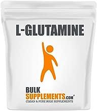 BulkSupplements.com L-Glutamine (250 Grams - 8.8 oz - 250 Servings)
