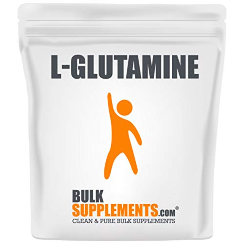 BulkSupplements.com L-Glutamine - BCAA Powder - Bodybuilding Supplements - Recovery Supplements Post Workout (250 Grams - 8.8 oz)