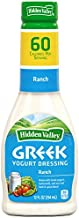 Hidden Valley Greek Yogurt Original Ranch Salad Dressing & Topping, Gluten Free - 12 Ounce Bottle (Package May Vary)