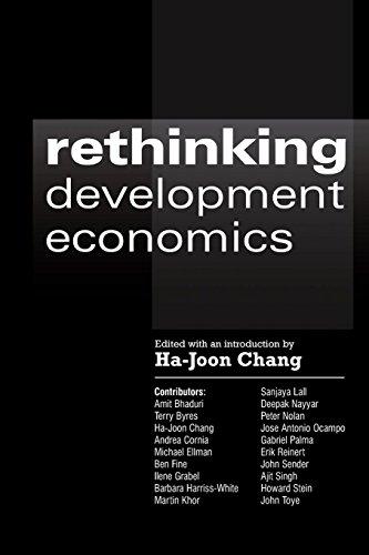 Rethinking Development Economics (Anthem Frontiers of Global Political Economy)