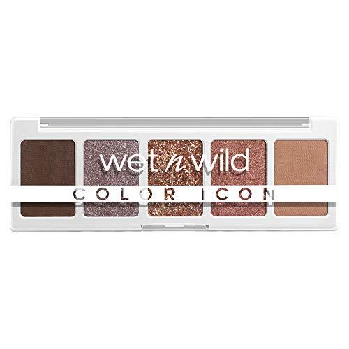 wet n wild, Color Icon 5-Pan Palette, Palette di Ombretti, 5 Colori Riccamente Pigmentati per il Trucco di Tutti i Giorni, Formula a Lunga Durata e Facile da Sfumare, Camo-Flaunt
