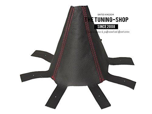 Für Honda CR-V 2006–12manuell Schaltsack Leder schwarz Naht rot