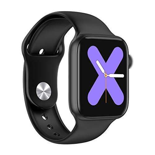 GLEMFOX Smart Call Watch-armband sport-stappenteller/hartslag-bloeddrukbewaking/antwoordapparaat-functie waterdicht Smart Bluetooth Call Watch zwart
