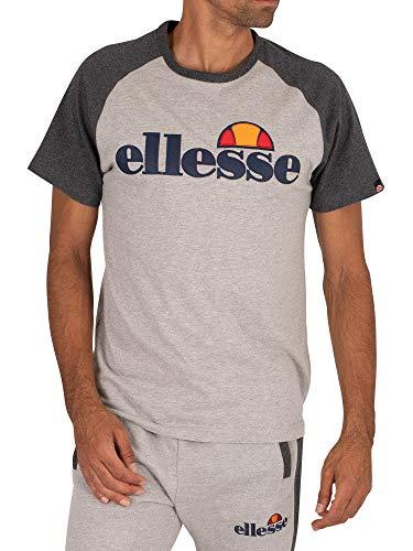 ellesse Coper Tee T-Shirt pour Homme XL Gris (Grey Marl)
