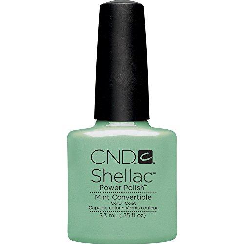 CND Shellac Nail Polish, Mint Convertible, 0.11 lb.