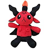 Baphomet Plush Toy Sabbatic Goat Baphomet Soft Plush Toy Doll Cute Soft Stuffed Animals Doll Creative Gifts for Baby Kids Family Friends, 12 Inches