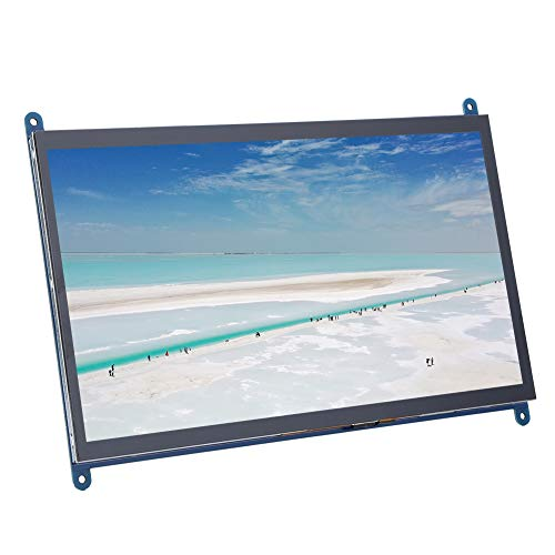 Screen Display, Touch Screen Module HDMI 1024X600 Capacitive Display screen for Raspberry Pi Online Teaching