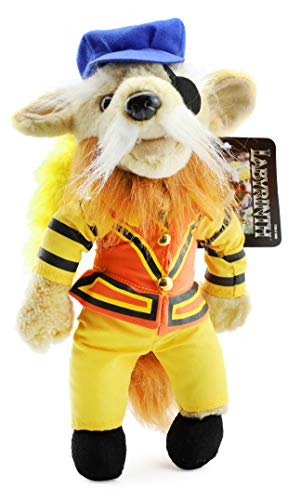Toy Vault Labyrinth Sir Didymus Plush Figure, 11-Inch Stuffed Toy from Labyrinth Movie with Jim Henson Creatures