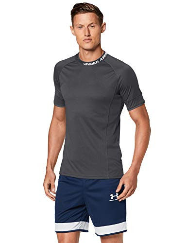 Under Armour Herren Kurzarmshirt Challenger Iii Training Top, Schwarz, XL, 1343915-001