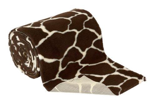 Vetbed Non-Slip Petlife rutschfeste Decke für Hunde/Katzen, 10m x 75cm, Giraffe Print