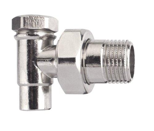 Cornat T591006 radiator schroefverbinding hoek afsluitbaar 15mm x 1/2