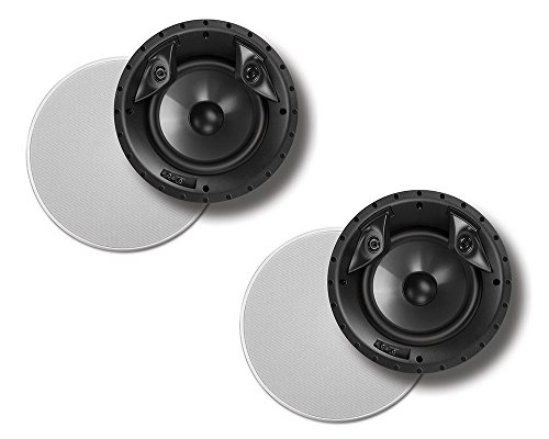 """Polk Audio 80F/X-Ls High Performance in-Ceiling Surround Loudspeaker with Dual Tweeters and 8"""" Driver"""