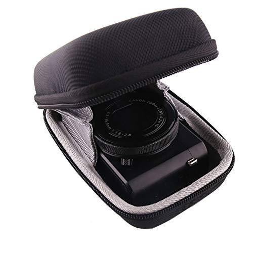 パナソニックPanasonic DMC-TZ85,TZ95,TZ90 Xデジタルカメラ専用収納ケース-WERJIA .JP (黒)