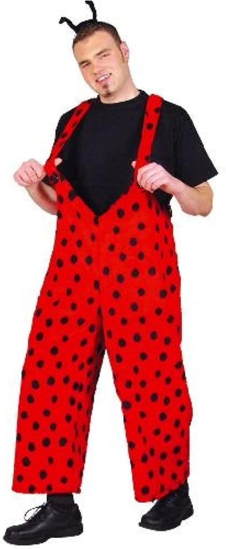 Marienkaefer Hose Latzhose Damen Herren Tier Kostüm Gr L Unisex B001Q3FXU2 Konzentrieren Sie sich auf das Babyleben     | Offizielle