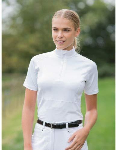 Equetech Freedom Chemise de compétition pour femme Blanc Taille 42