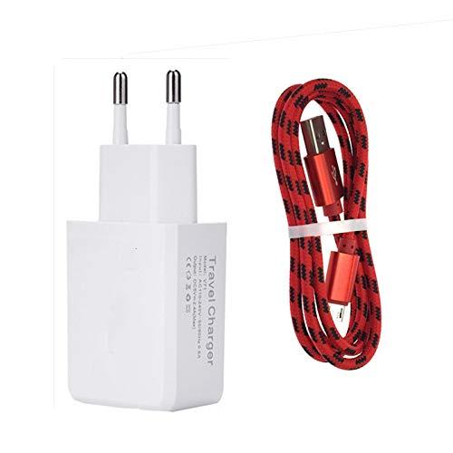 MKDASFD Chargeurs7mm Nylon Micro USB Téléphone Portable Chargeur Rapide Cabel pour Oukitel k10000 / k6000 Pro U20 Plus Blackview Leagoo M5 Bluboo Maya