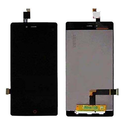 Ersatz-Test Versuch Werkzeuge IPartsBuy LCD-Bildschirm + Touchscreen-Digitizer-Baugruppe for ZTE Nubia Z9 Mini / NX511J-Zubehör (Color : Black)
