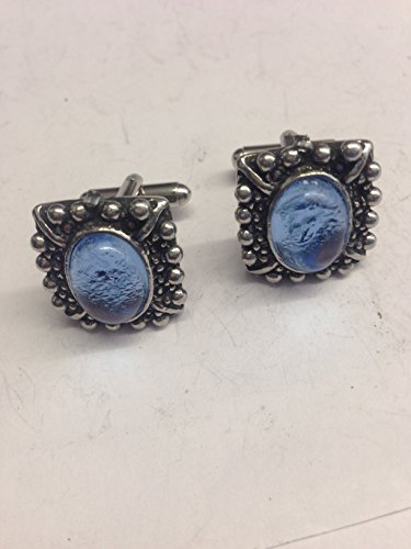 Mary Queen of Scots Blue Gem we-mgpp Anglais étain boutons de manchette