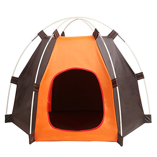 ERUW Cuccia Pieghevole Portatile per Cane Pet House, Tenda Impermeabile per Piccoli Animali, Cani Gatti Ideale per Viaggio Campeggio all'aperto Tenda