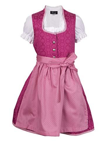 Ramona Lippert Dirndl Charlotta Kinderdirndl pink (122-128)