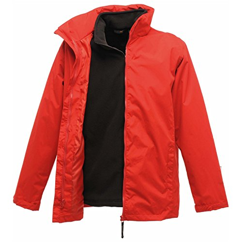 Regatta Herren Klassik 3 in 1 Jacke (Large) (Rot)