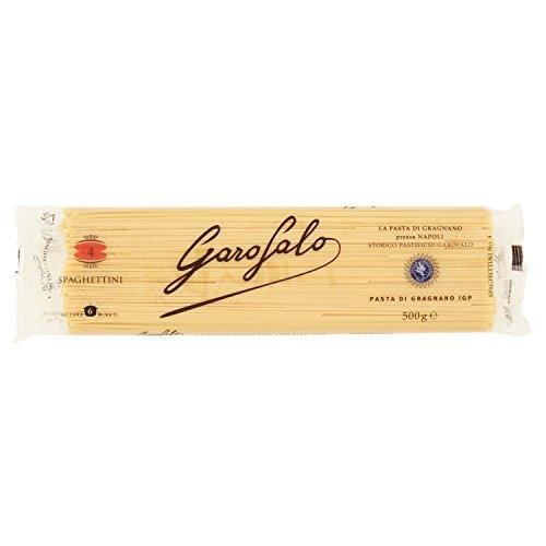 Garofalo Pasta Spaghettini N.4 - 6 pezzi da 500 g [3 kg]