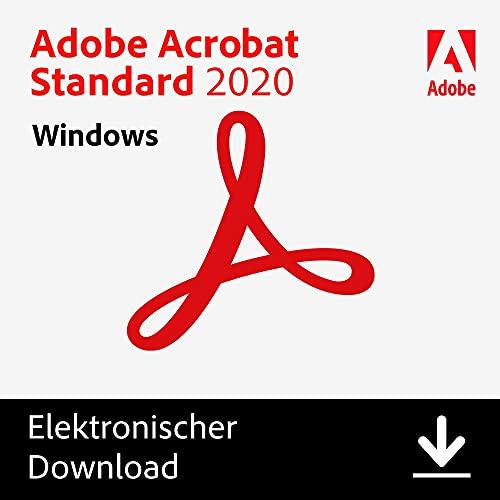 Adobe Acrobat | Standard | 1 Benutzer | PC | PC Aktivierungscode per Email