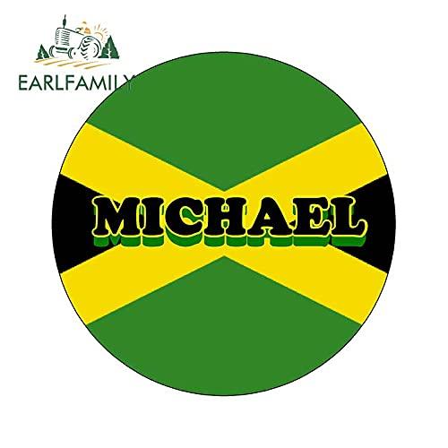 A/X 13 cm x 13 cm Pegatinas de Coche para la Bandera de Jamaica Divertida Novedad imán de Nevera Personalizado calcomanía gráfico Impermeable